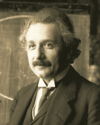 Einstein (wikipedia commons)